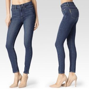 PAIGE Margot Ankle Blue Skinny Jeans